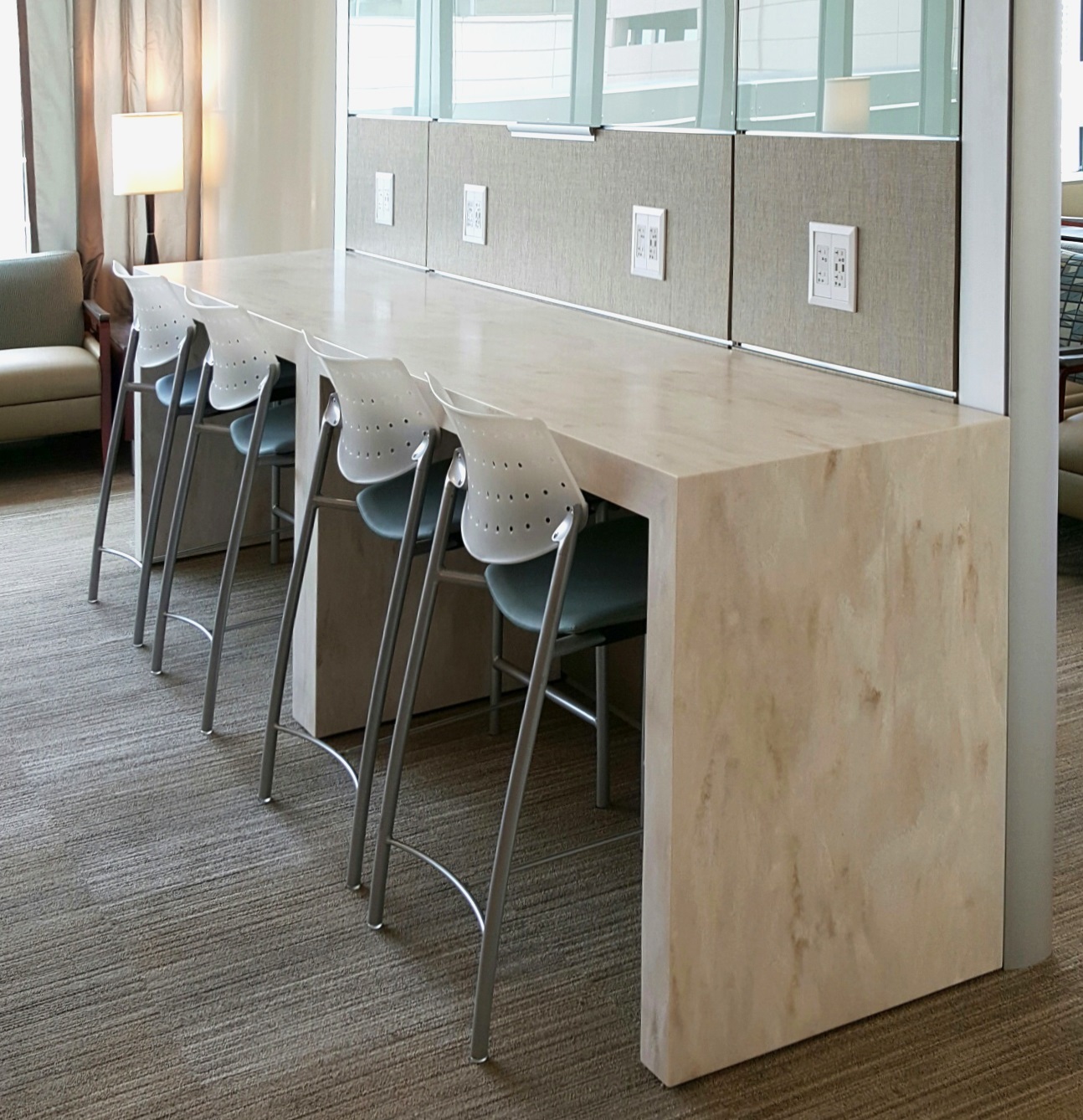 Futrus® Solutions with DuPont™ Corian® | Parsons Tables