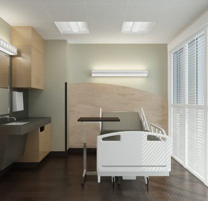 Futrus 174 Solutions With Corian 174 Design Patient Room