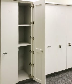 Corian® Door System & Futrus® Solutions with Corian® Design | Commercial Casework Systems