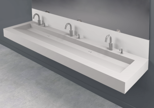 Futrus 174 Solutions With Corian 174 Design Trough Sinks